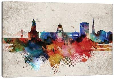 Charleston Abstract Canvas Art Print
