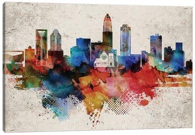 Charlotte Abstract Canvas Art Print
