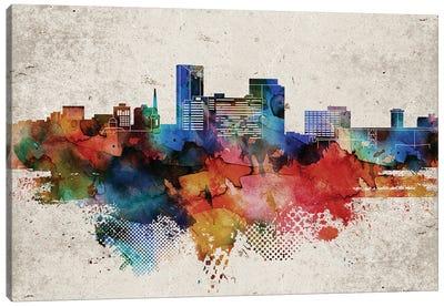 Lexington Abstract Skyline Canvas Art Print