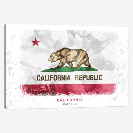 California Canvas Print #WDA64} by WallDecorAddict Canvas Artwork