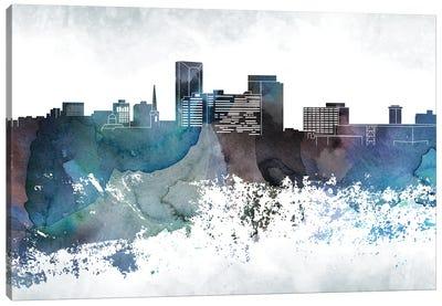 Lexington Bluish Skyline Canvas Art Print