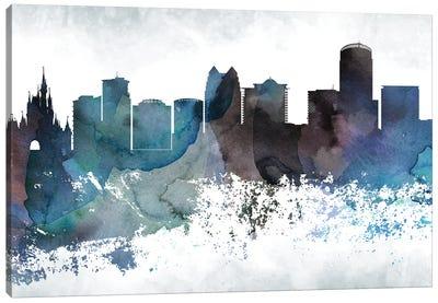 Orlando Bluish Skyline Canvas Art Print