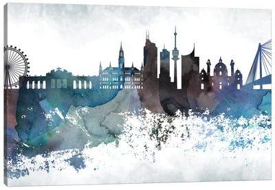 Vienna Skyline Canvas Art Print