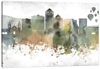 Albuquerque Skyline Canvas Art Print