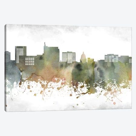 Boise Skyline Canvas Print #WDA887} by WallDecorAddict Canvas Artwork