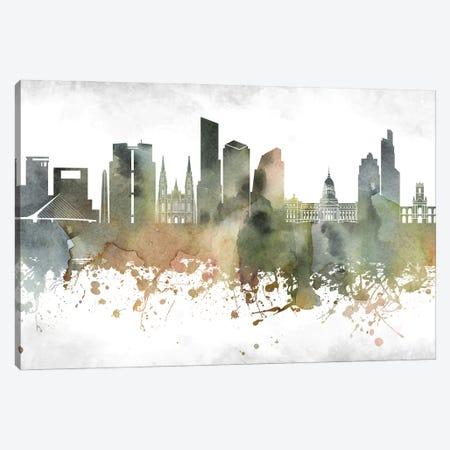Buenos Aires Skyline Canvas Print #WDA891} by WallDecorAddict Canvas Wall Art