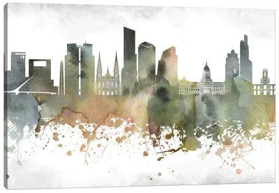 Buenos Aires Skyline Canvas Art Print