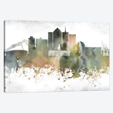 Cape Town Skyline Canvas Print #WDA895} by WallDecorAddict Canvas Print