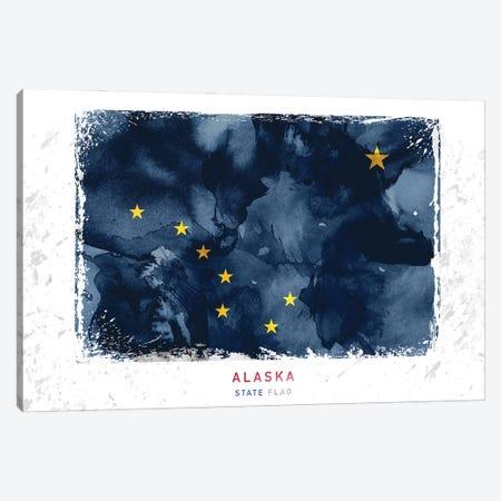 Alaska Canvas Print #WDA8} by WallDecorAddict Canvas Art