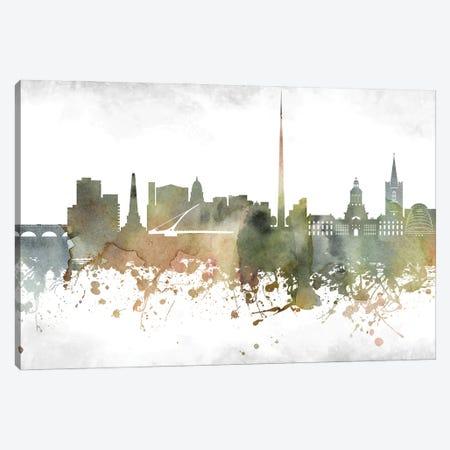 Dublin Skyline Canvas Print #WDA909} by WallDecorAddict Canvas Wall Art