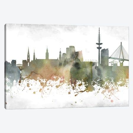 Dusseldorf Skyline Canvas Print #WDA910} by WallDecorAddict Canvas Art Print