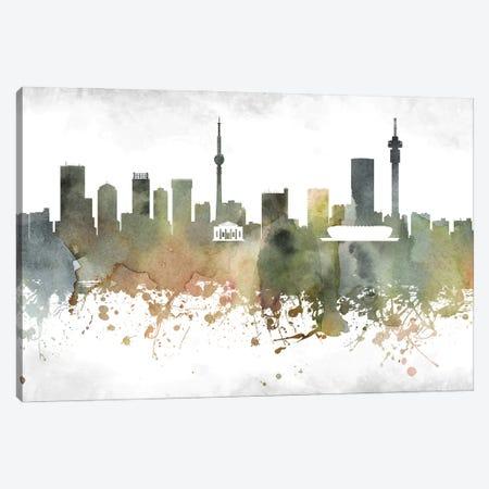 Johannesburg  Skyline Canvas Print #WDA930} by WallDecorAddict Canvas Art Print