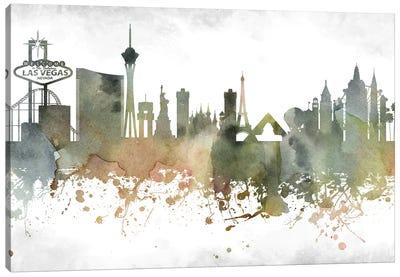 Las Vegas Skyline Canvas Art Print