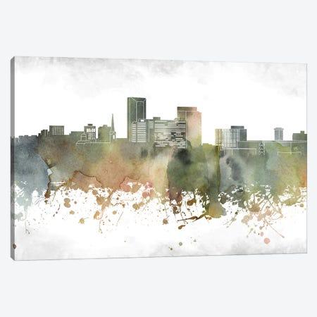 Lexington Skyline Canvas Print #WDA934} by WallDecorAddict Canvas Wall Art