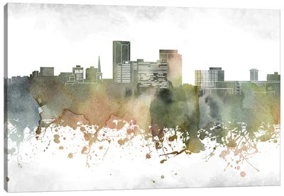 Lexington Skyline Canvas Art Print