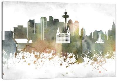 Liverpool Skyline Canvas Art Print