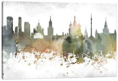 Moscow Skyline Canvas Art Print