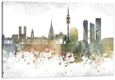 Munich Skyline Canvas Art Print