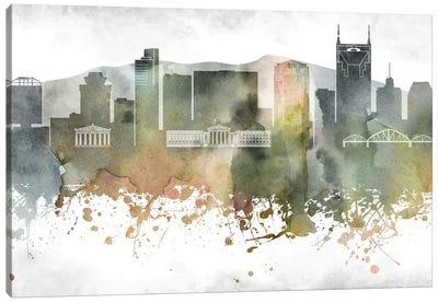Nashville Skyline Canvas Art Print