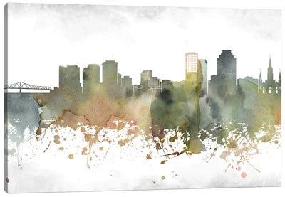 New Orleans Skyline Canvas Art Print
