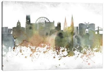 Nottingham Skyline Canvas Art Print