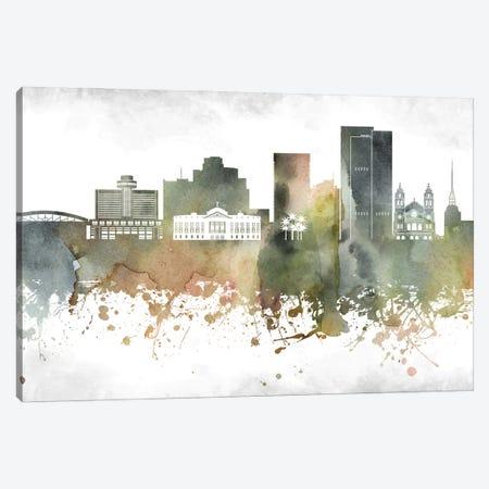 Phoenix Skyline Canvas Print #WDA975} by WallDecorAddict Canvas Wall Art