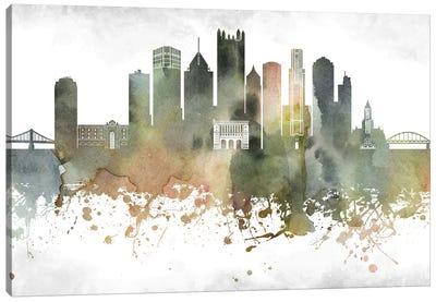Pittsburgh Skyline Canvas Art Print