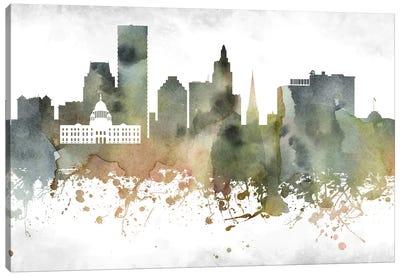 Providence  Skyline Canvas Art Print
