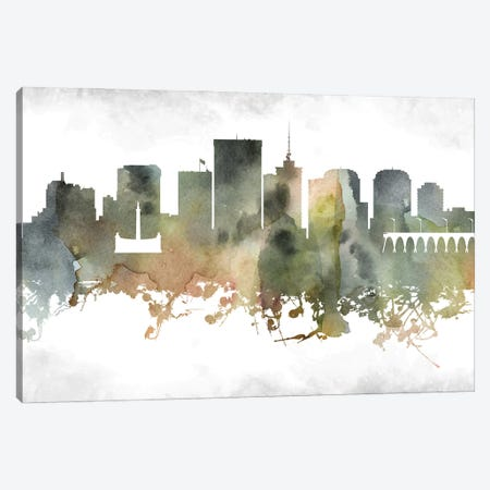 Richmond Skyline Canvas Print #WDA983} by WallDecorAddict Canvas Artwork
