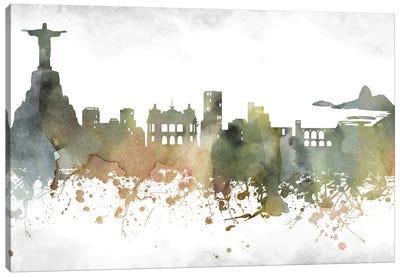 Rio Skyline Canvas Art Print