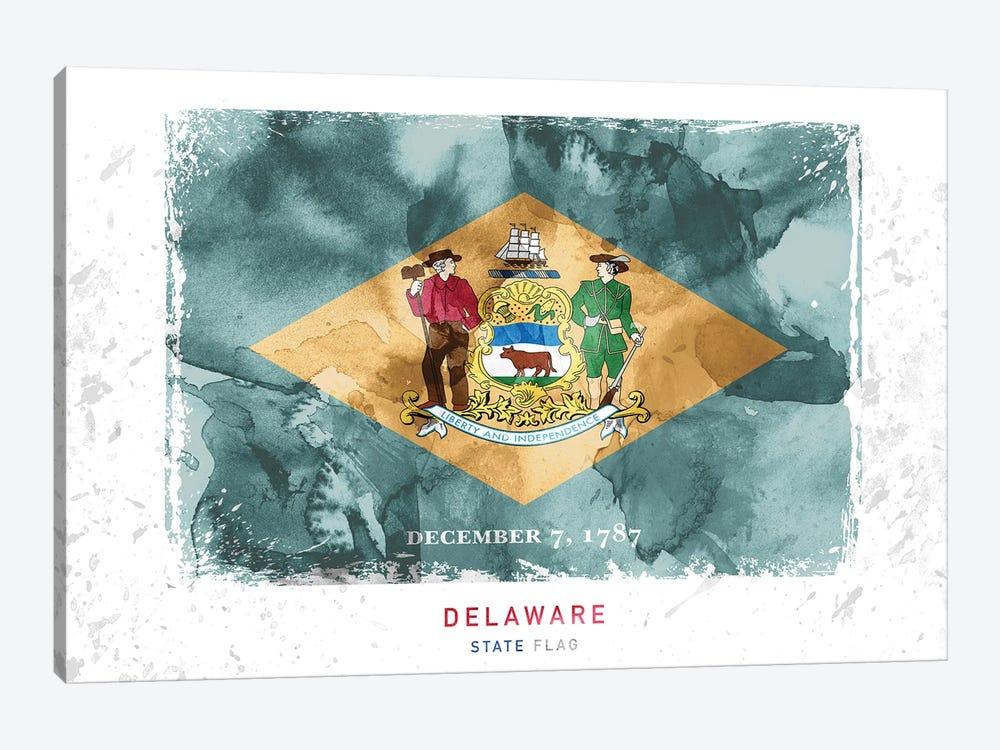 Delaware by WallDecorAddict 1-piece Canvas Artwork