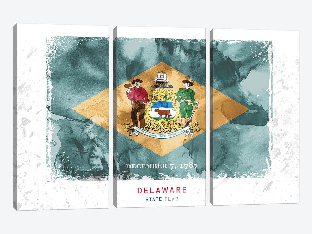 Delaware by WallDecorAddict 3-piece Canvas Artwork