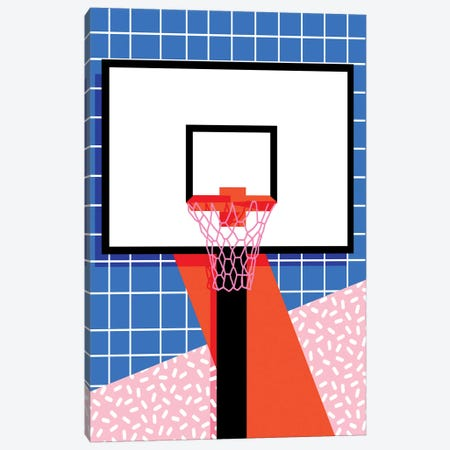 Baller Canvas Print #WDE10} by Wacka Designs Canvas Art