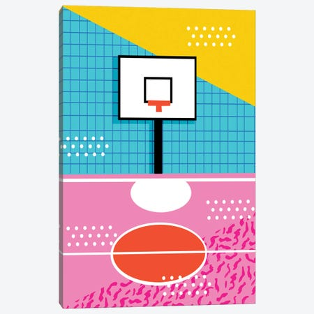 Ballin Canvas Print #WDE11} by Wacka Designs Canvas Wall Art