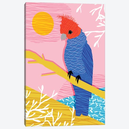 Blazin Canvas Print #WDE14} by Wacka Designs Art Print