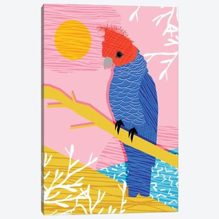 Blazin 3-Piece Canvas #WDE14} by Wacka Designs Art Print