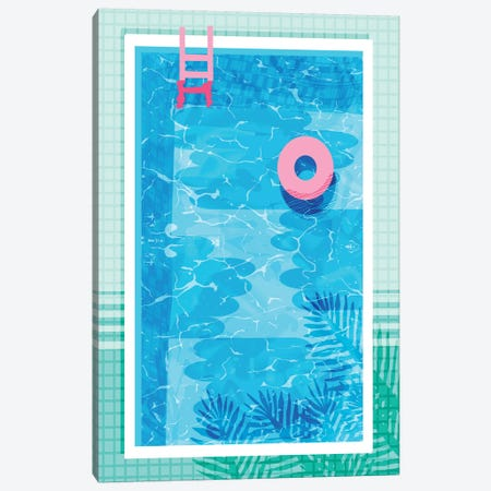 Chillin Canvas Print #WDE21} by Wacka Designs Art Print