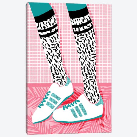 Aiight Canvas Print #WDE2} by Wacka Designs Canvas Art