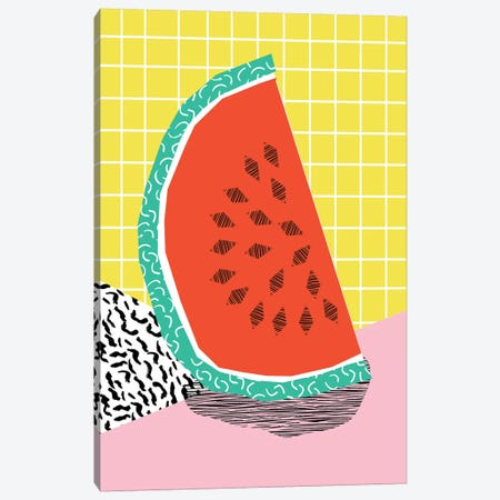 Dyno Canvas Print #WDE30} by Wacka Designs Canvas Artwork