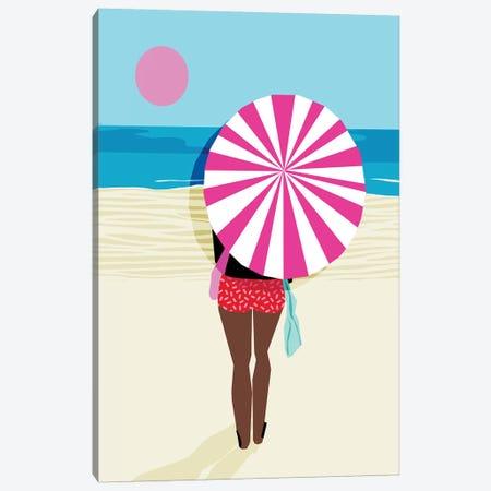 Fer Sure Canvas Print #WDE32} by Wacka Designs Canvas Wall Art