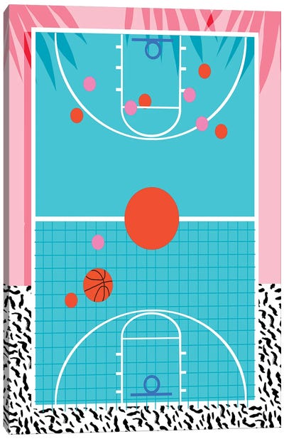 Hoops Canvas Art Print