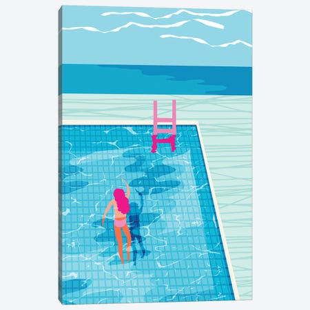 In Deep Canvas Print #WDE44} by Wacka Designs Canvas Art