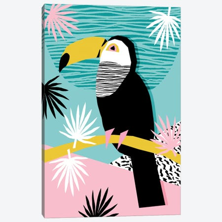 Loopy Canvas Print #WDE52} by Wacka Designs Canvas Artwork