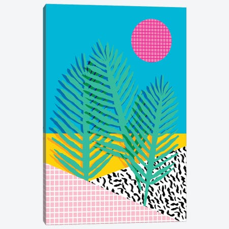 Mondo Canvas Print #WDE55} by Wacka Designs Art Print