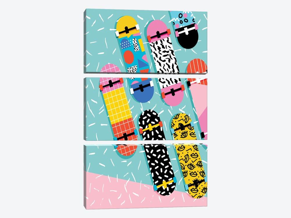 Omigod by Wacka Designs 3-piece Canvas Print