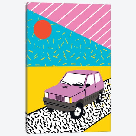 Scoop Canvas Print #WDE68} by Wacka Designs Canvas Art Print
