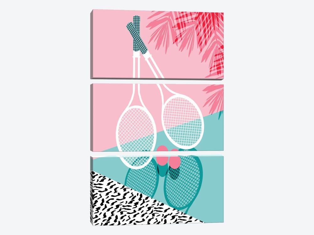 Sportin by Wacka Designs 3-piece Canvas Artwork