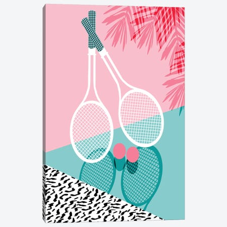 Sportin 3-Piece Canvas #WDE75} by Wacka Designs Canvas Art Print