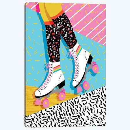 Steeze Canvas Print #WDE78} by Wacka Designs Canvas Artwork