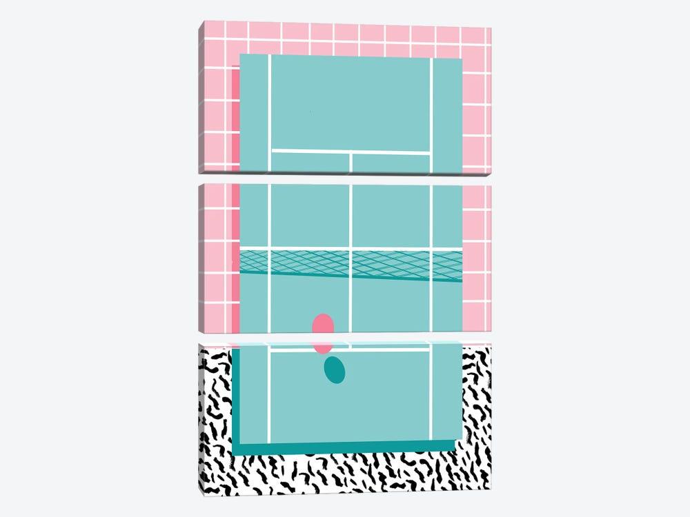 Ballboy by Wacka Designs 3-piece Canvas Artwork